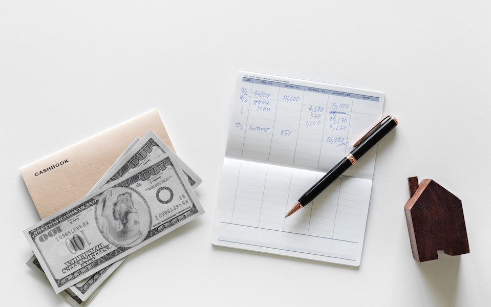 Checkbook with loan